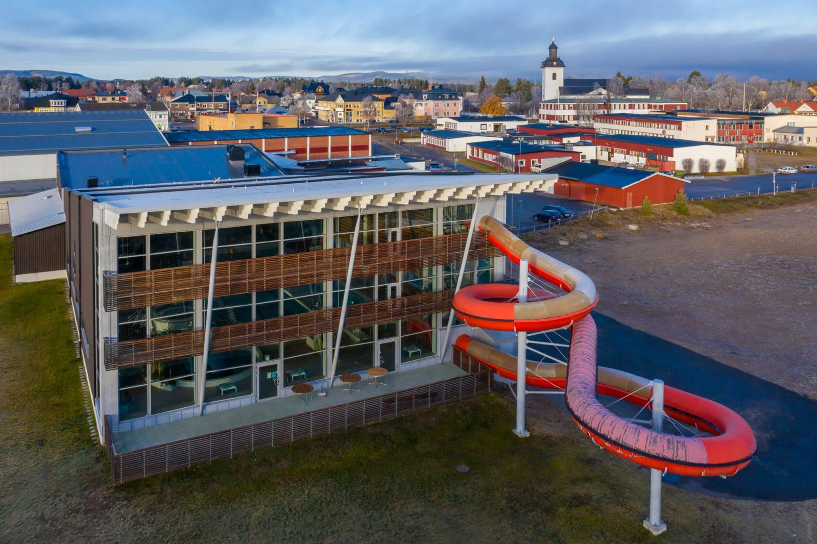 Badhuset Sveg. Foto: Morgan Grip