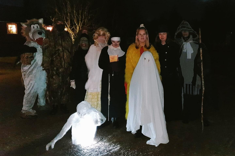Spöklik Halloween i Lillhärdal