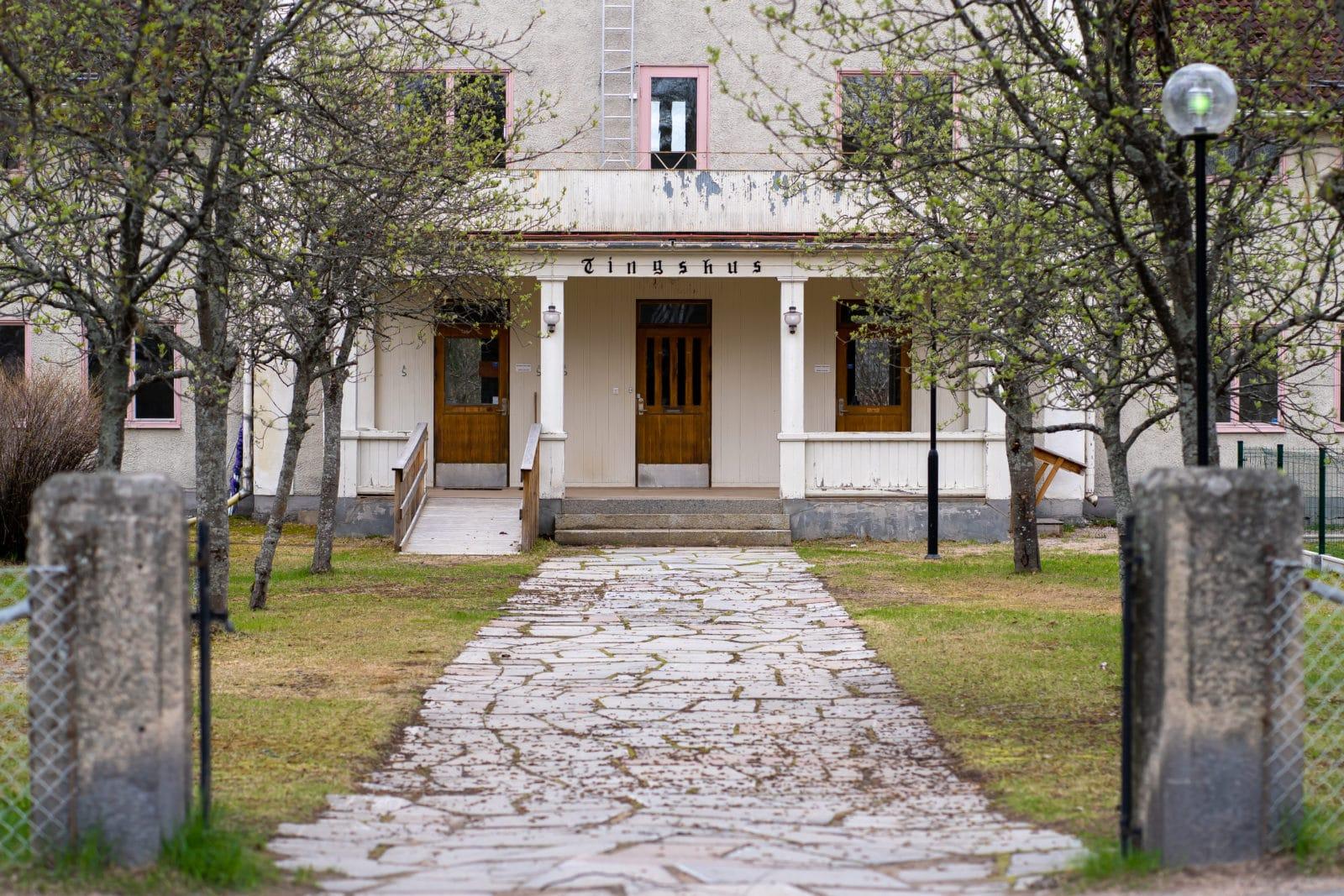 Tingshuset Sveg. Foto: Morgan Grip