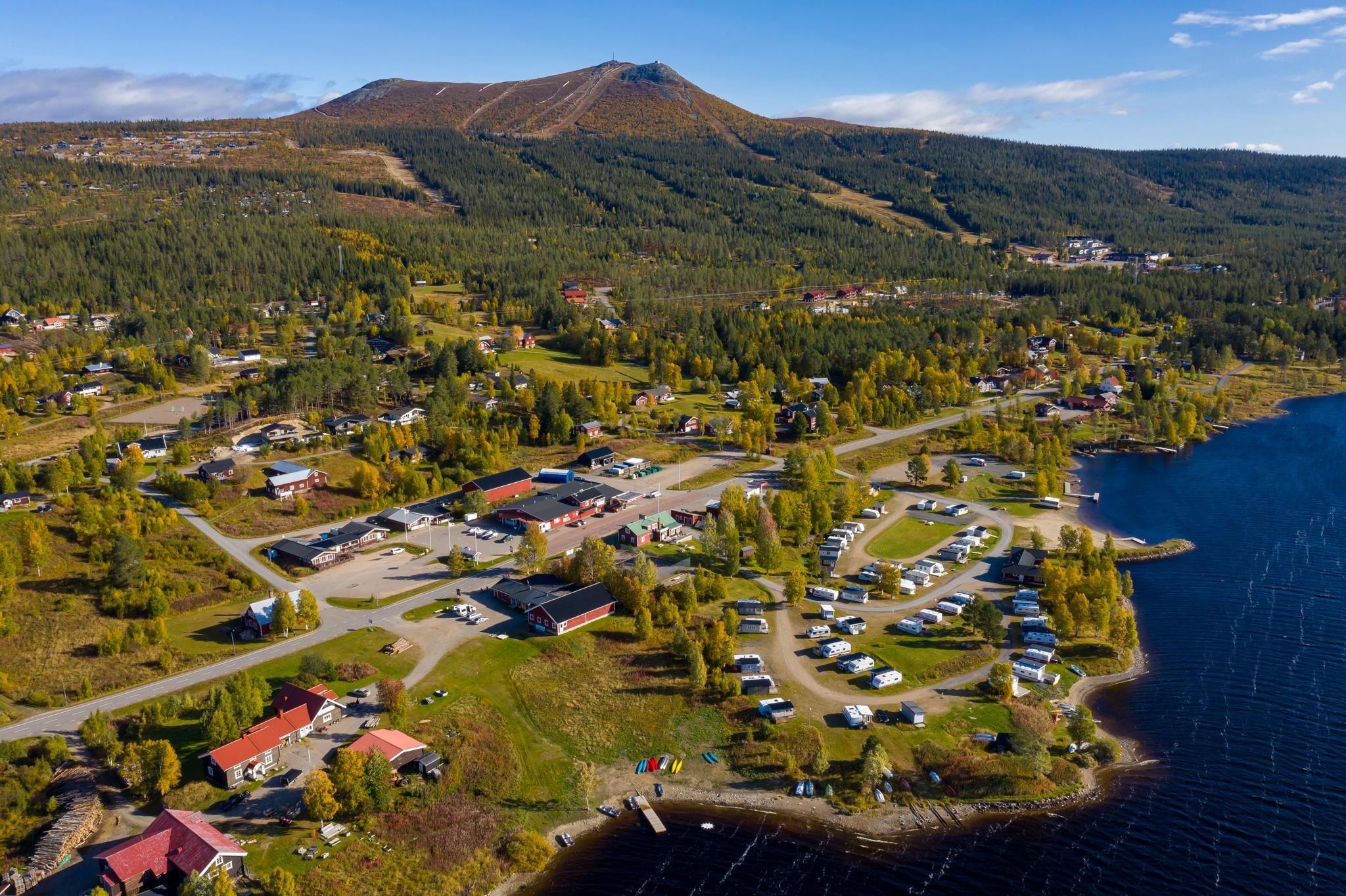 Lofsdalens Fjällhotell får liv med nya ägare. Foto: Morgan Grip