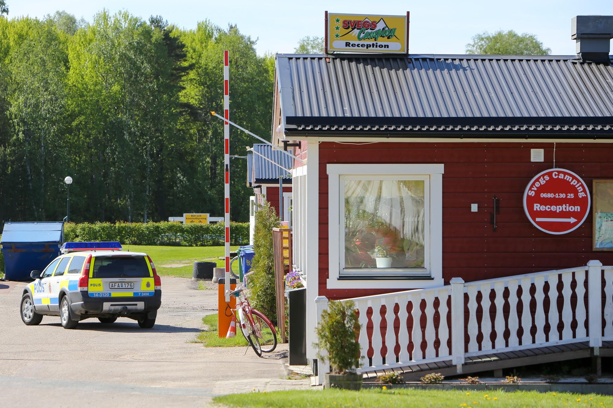 Inbrott på Svegs Camping. Foto: Morgan Grip