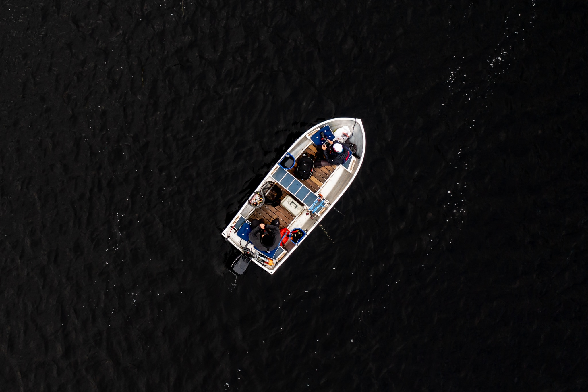 Harrfiske i Härjedalen – Jakten på landskapsfisken Episod 2. Foto: Morgan Grip