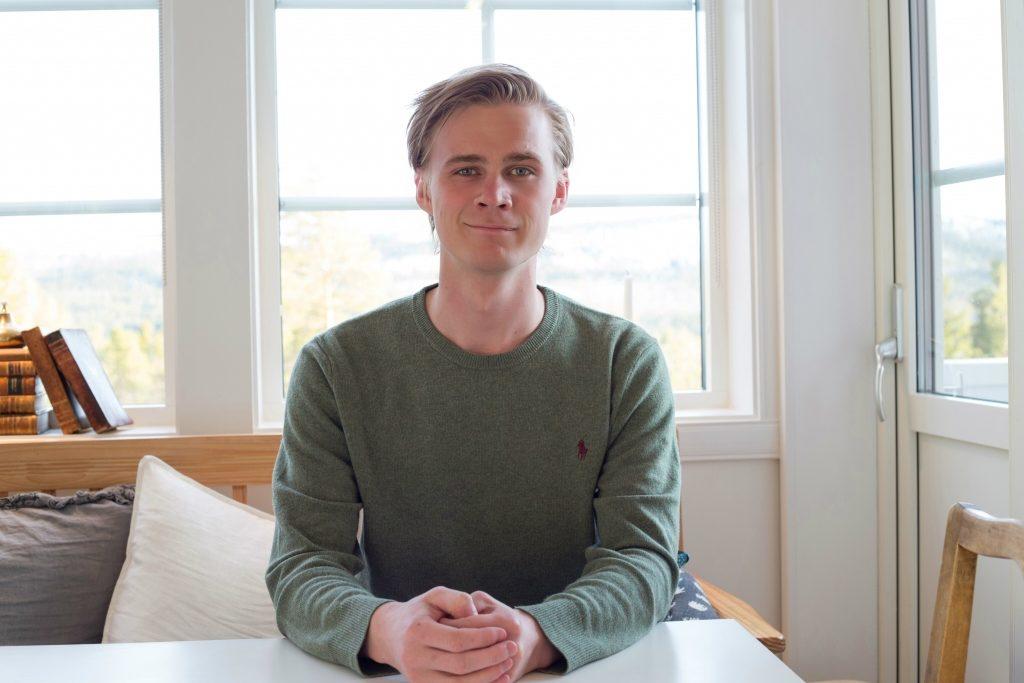 Victor Ericsson (M) lämnar kommunpolitiken. Foto: Nina Wenker