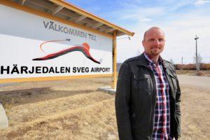 Han blir ny flygplatschef