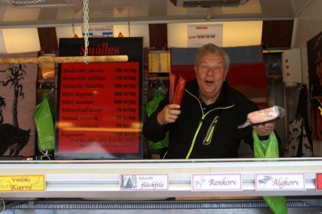 Marknadstisdagarna är igång i Sveg