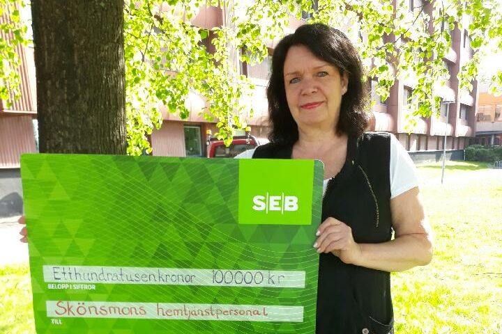 Karin Holmin från Sveg delaktig i fint pris inom svensk äldreomsorg