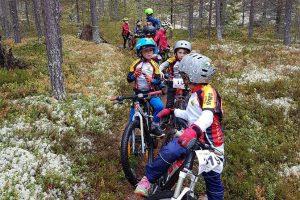 Svegs IKs cyklister säsongsavslutade med korv med bröd och downhill