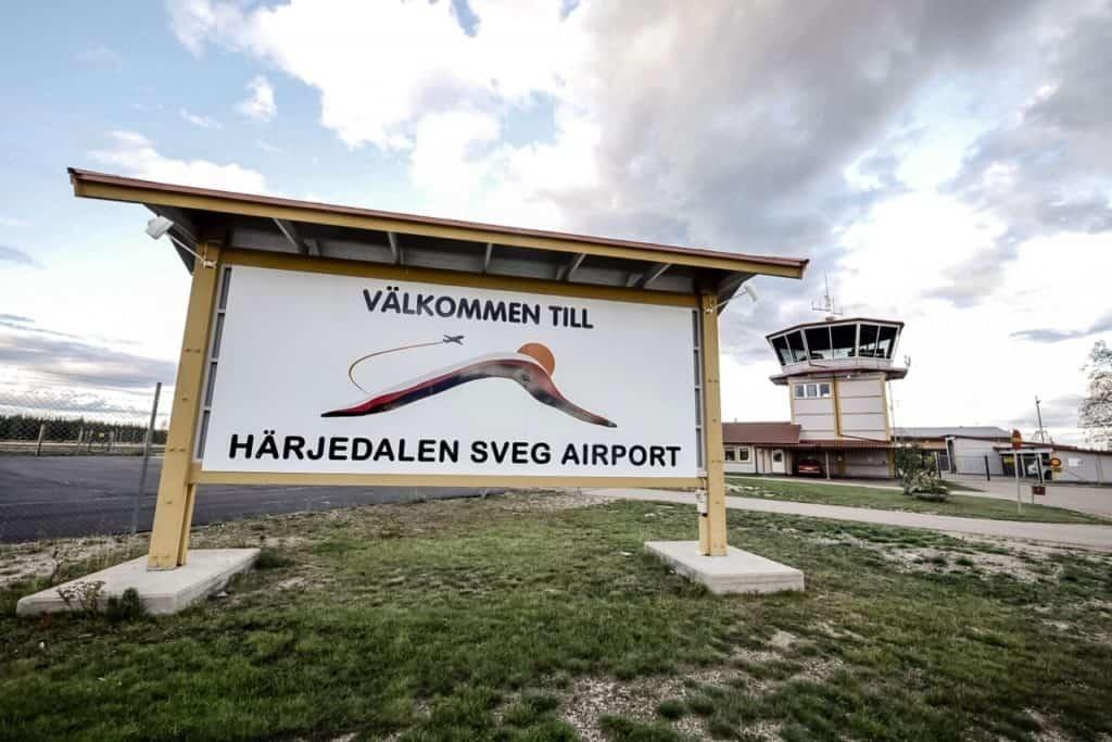 Flygplatsen är nu öppen som vanligt igen