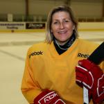 Ingrid Larsson - Sveriges äldsta hockeydam