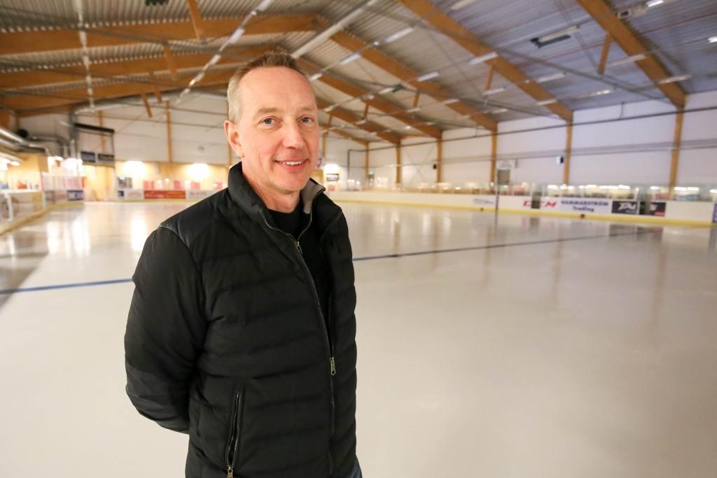 """Nye hockeyordföranden """"Alltvåan är målsättningen"""" för herrlaget och """"hockeyprofil på gymnasiet ett måste"""""""