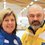 Mia Boman leder tillsammans med Peter Narup det svenska landslaget i rullstolscurling