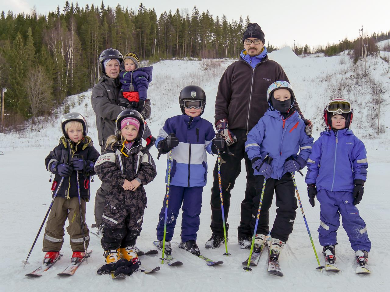 Äntligen är slalomsäsongen igång i Björnberget