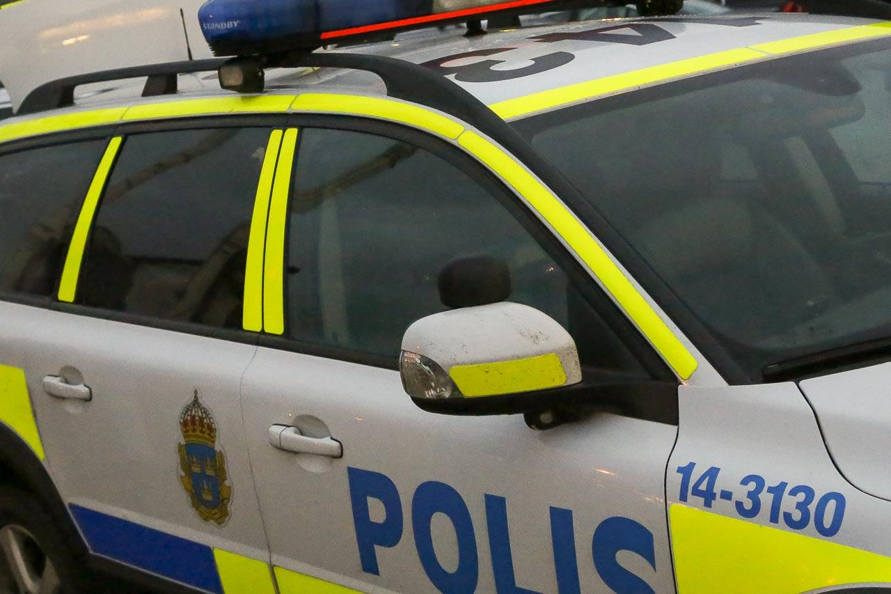 Polisinsats mot narkotikabrott i Sveg