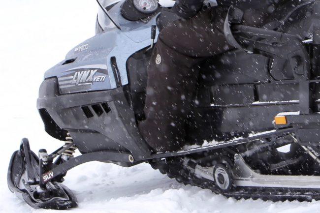 Polisen kontrollerade skotertrafik i Lofsdalen – flera förare bötfälldes