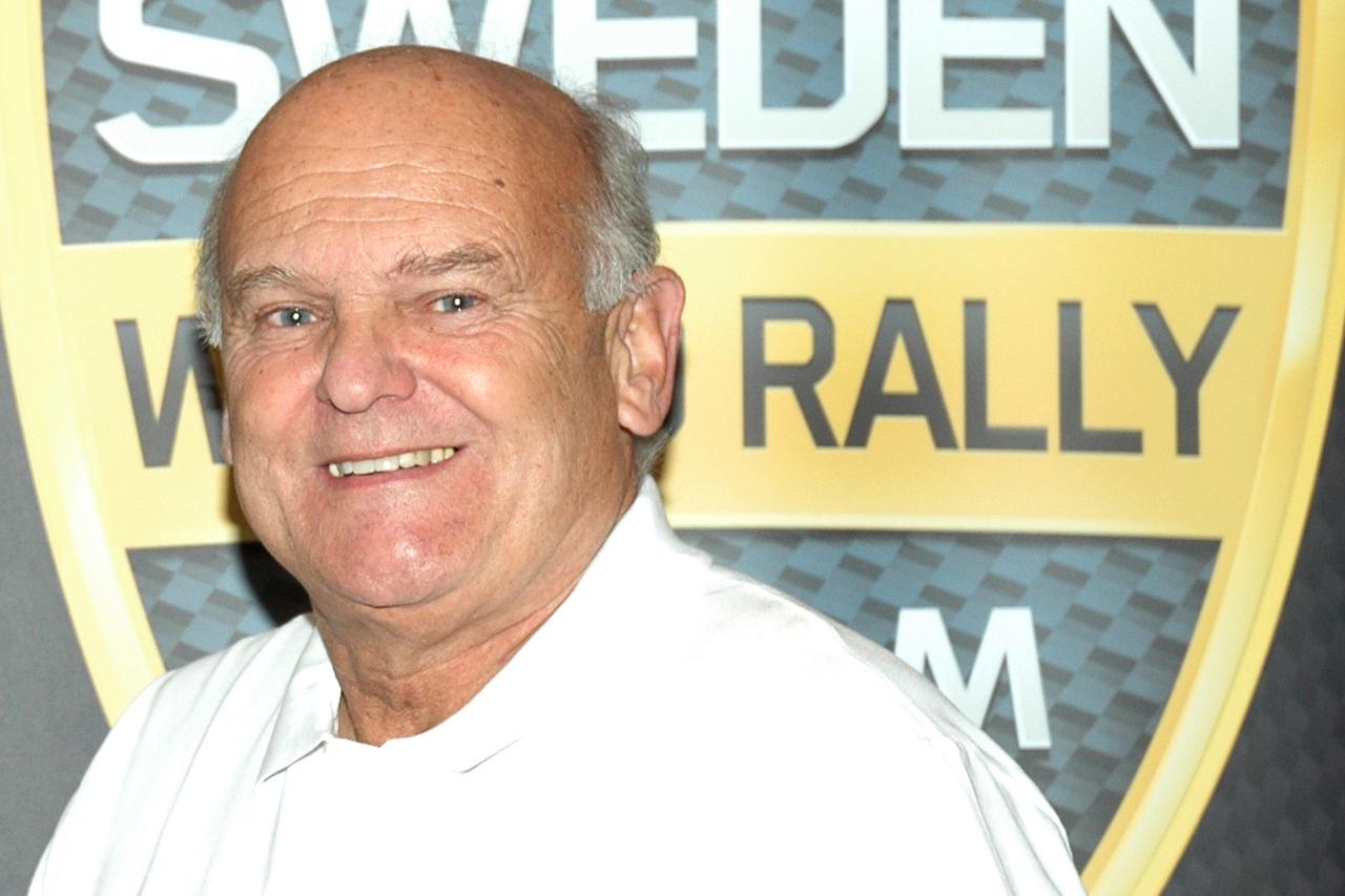Rallylegenden och före detta världsmästaren Stig Blomqvist startar i Härjedalsbrickan